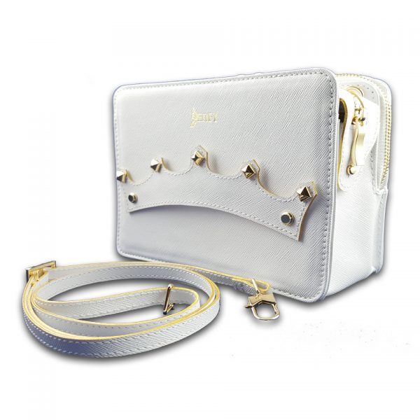 Genuine White Leather Bags